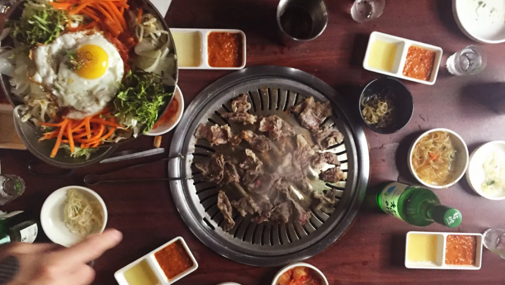 So the thing about Korean BBQ… its the fact that you bring